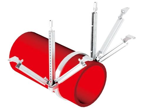 水管双向抗震支架
